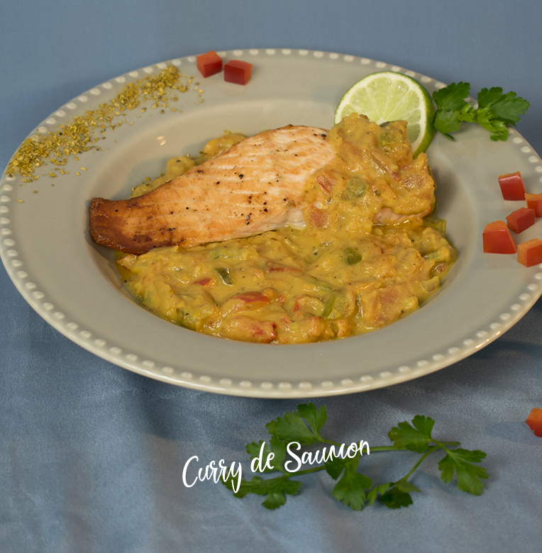 Curry de Saumon